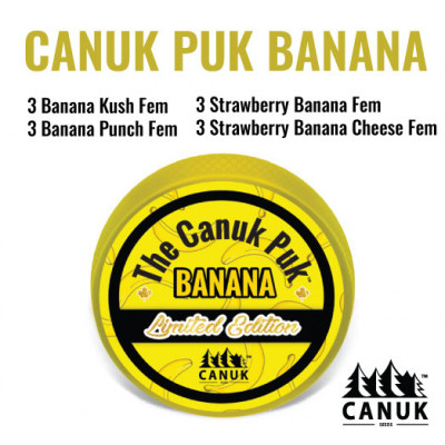The Limited Edition Canuk Puk Banana