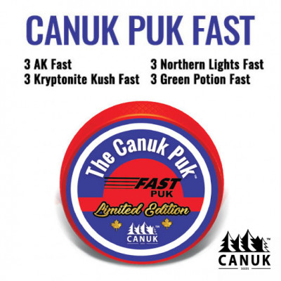 The Limited Edition Canuk Puk Fast