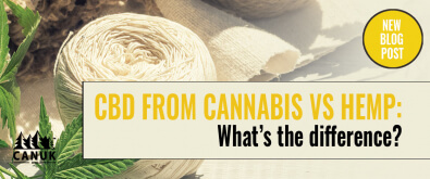 CBD from Cannabis versus Hemp: What's the Difference?