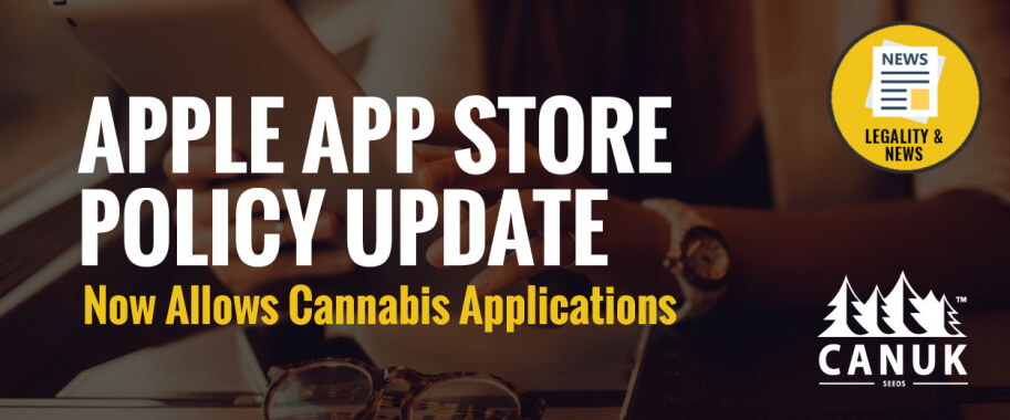 Apple App Store Policy Update Now Allows Cannabis Applications