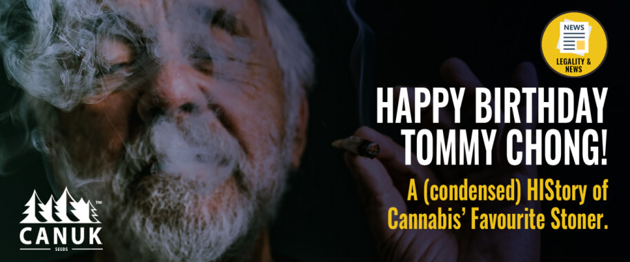 Happy Birthday Tommy Chong! A (Condensed) HIStory of Cannabis' Favourite Stoner